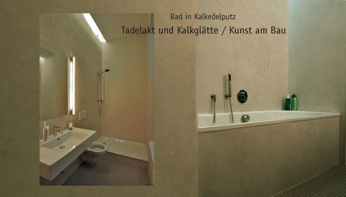 tadelakt kalkgl tte bad und dusche. Black Bedroom Furniture Sets. Home Design Ideas