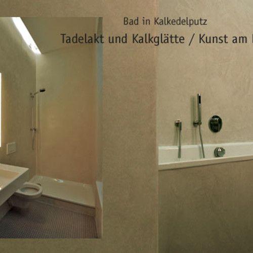 Naturstein Dusche Kalk : Tadelakt & Kalkgl?tte Bad und Dusche