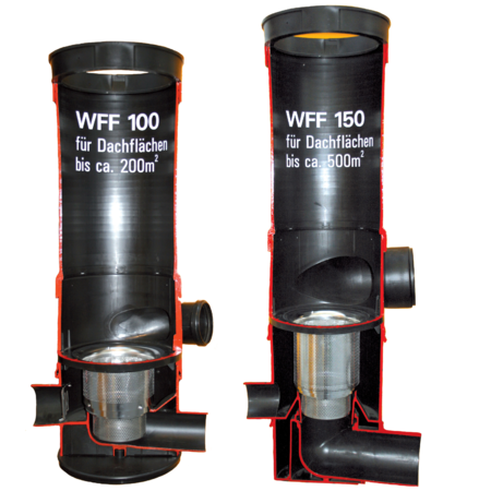 wisy regenwasserfilter wirbel fein filter wff mit dn 100. Black Bedroom Furniture Sets. Home Design Ideas